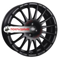 8*17 5*112 ET35 75 OZ Superturismo GT Matt Black + Red Lettering