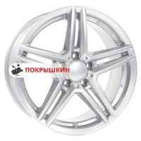 7,5*16 5*112 ET45,5 66,5 Rial M10 Polar Silver