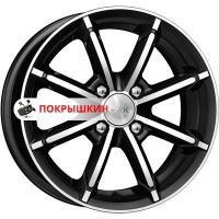 6*14 4*98 ET30 58,5 КиК Sportline (КС603) Алмаз черный