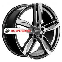8*18 5*112 ET29 66,5 Fondmetal Hexis Gloss Black Machined