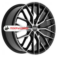 9*21 5*112 ET25 66,5 Fondmetal Makhai Gloss Black Machined