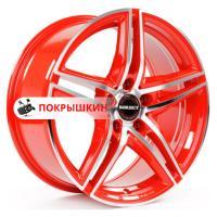 8*18 5*114,3 ET45 72,5 Borbet XRT Red Front Polished